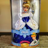 Disney Toys   Disney Porcelain Doll   Color: White/Silver   Size: Osg