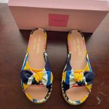 Kate Spade Shoes | Kate Spade Saltie Shore Espadrille Slide Sandals | Color: Brown | Size: 8.5