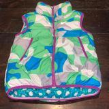 Nike Jackets & Coats   Nike Womens Medium Reversible Puffy Vest   Color: Blue/Green   Size: M