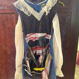 Disney Costumes | Girls Pirate Of The Caribbean Costume | Color: Black | Size: L (10-12)