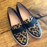 Kate Spade Shoes | Kate Spade Platform Sneaker Loafers | Color: Black/White | Size: 7