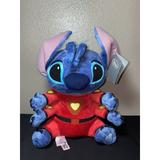 Disney Toys | Disney Lilo & Stitch Plush Red Spacesuit 15 Stuffed Toy Space Suit Four Arms | Color: Red | Size: Medium (14-24 In)