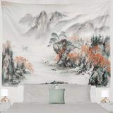 Loon Peak® Japanese Tapestry in Gray, Size 60.0 H x 80.0 W in | Wayfair FF7DAF25672343A7BCB2730B22F3794E