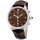 Ds Podium Chronograph Quartz Brown Dial Watch 00 - Brown - Certina Watches