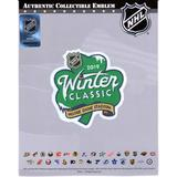 """Boston Bruins vs. Chicago Blackhawks 2019 NHL Winter Classic National Emblem Jersey Patch"""