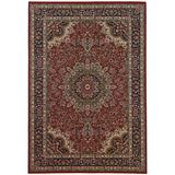 Ariana Indoor Area Rug in Red/ Ivory - Oriental Weavers A117C3240240SQ
