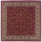 Ariana Indoor Area Rug in Red/ Ivory - Oriental Weavers A113R3240240SQ