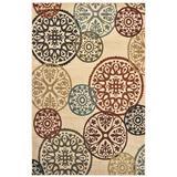 Laurel Indoor Area Rug in Beige/ Multi - Oriental Weavers L2733H160213IN