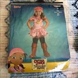 Disney Costumes | Disney Junior Captain Jake Izzy Costume Girls Halloween Costume 2t | Color: Pink | Size: 2t