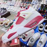 Nike Shoes | New Genuine Nike Jordan Air Jordan 4 Aj4 Generation Middle Cut | Color: Silver/White | Size: Various