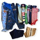 Disney One Pieces   Infant Boy 0-3 Months One Pieces Pants Overalls Pjs 10 Piece Lot Bundle   Color: Blue   Size: 0-3mb