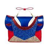 Disney Bags | Danielle Nicole Disney Snow White & The Seven Dwarfs - Snow White Dress Satchel | Color: Blue/Red | Size: Os