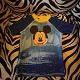 Disney Swim | Boys Disney Swim-Shirt (Rash Guard) | Color: Blue | Size: 5tb