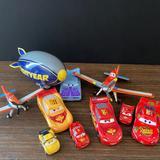 Disney Toys | Disney Pixar Cars Planes Toys Cars Planes Lot | Color: Blue/Black | Size: Osb