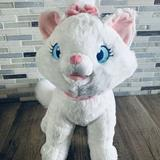 Disney Toys | Disney Collection Aristocats Marie Plush White Cat Stuffed Animal Toy 12 | Color: Pink/White | Size: 12 Inches