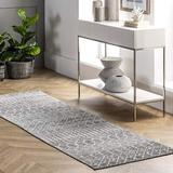 Foundry Select Moroccan Blythe Runner Rug, 2' X 6' in Brown/Gray, Size 30.0 W x 0.37 D in   Wayfair 1790B963C0E9486F9A87CB652591F949