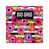 TF Publishing Calendars Multi - Pink Floral 12-Month 2022 Wall Calendar