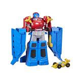 Hasbro Toy Cars and Trucks - Transformers Red & Yellow Optimus Prime & Bumblebee Figure Set