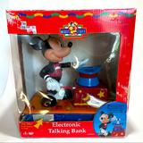 Disney Toys | Disney Mickey Mouse Electronic Talking Bank | Color: Black | Size: See Photos