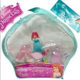 Disney Toys | Disney Ariel Dress Up Set Disney Princess Doll | Color: Brown | Size: Osg