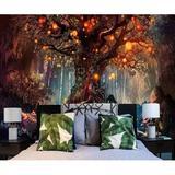 East Urban Home Fantasy Magical Tree Tapestry Birch Tree Stream in Brown, Size 70.9 H x 92.5 W in   Wayfair ADA3C761ED864146954458BB6175C1E8