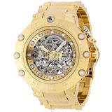 Invicta Subaqua Skeletonized SHUTTER Automatic Men's Watch - 52mm Gold (36650)
