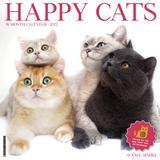 Willow Creek Press Happy Cats 2022 Wall Calendar