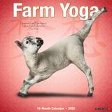 Willow Creek Press Farm Yoga 2022 Wall Calendar