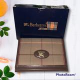 Burberry Accessories | Burberrys Of London Vtg Men'S Check Bifold Card Case | Color: Brown/Tan | Size: Approx: 3l X 3h X 1.5w