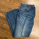 J. Crew Jeans | J. Crew Vintage Slim 100% Cotton Jeans. Distressed 36 X 30 | Color: Blue | Size: 36