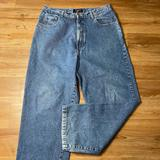 American Eagle Outfitters Jeans | American Eagle Dungrees Vintage Straight Jeans 34 | Color: Blue | Size: 34