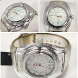 Gucci Accessories | Gucci Sync Swiss Quartz White Dial Rubber Strap Sports Watch | Color: White | Size: Various, Adjustable Strap!