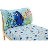 Disney Bedding | Finding Dory Toddler Sheet Set, 2-Pack By Disney | Color: Blue/Orange | Size: Standard Crib