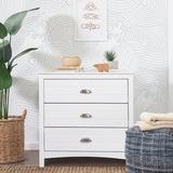 Carter's by DaVinci Nolan 3 Drawer Dresser Wood in White, Size 41.0 H x 20.0 W x 35.0 D in | Wayfair F16903W