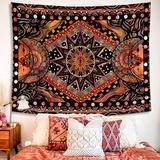 East Urban Home Aesthetic Tapestry For Bedroom Living Room Dorm, Sun & Moon Tapestry Wall Hanging, Indie Hippie Mandala Cool Wall Tapestries Wayfair