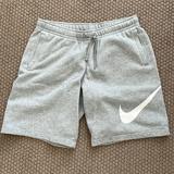 Nike Shorts | Nike Shorts (Fleece Inside) | Color: Silver | Size: L