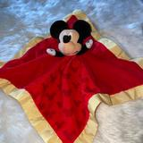 Disney Other | Disney Baby Mickey Mouse Security Blanket | Color: Red/Yellow | Size: Osbb