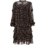 """esma"" Dress - Black - Ulla Johnson Dresses"