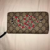 Gucci Bags   Gucci Large Zip Around Wallet   Color: Brown   Size: Os