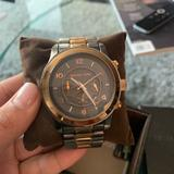 Michael Kors Accessories | Michael Kors Mens (Unisex) Rose Gold Two Tone Oversized Watch | Color: Gold | Size: Os