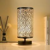 Corrigan Studio® Bedside Table Lamp, Metal Nightstand Lamps, Modern Simple Desk Lamp, Mini Table Lamp w/ Base Table Lamp For Bedroom Living Room