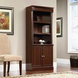 Red Barrel Studio® Palladia Library w/ Doors, Select Cherry Finish Wood in Brown, Size 71.85 H in | Wayfair 821C23A032254597A8A8879245D579DA
