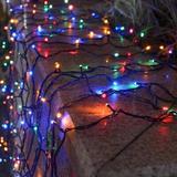 The Holiday Aisle® Solar Christmas Lights 100 LED Solar String Lights Waterproof Solar Fairy Lights For Garden, Patio, Fence, Balcony   Wayfair