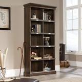 Red Barrel Studio® Sauder Barrister Lane Tall Bookcase, Iron Oak Finish Wood in Brown, Size 75.04 H x 13.47 W x 35.51 D in | Wayfair