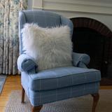 "Mercer41 Sheepskin Cushions 1 Sided in, 15"" W x 23"" L in White | Wayfair 75C7217E9C9644DFAEB9D0ECF07BAEC2"