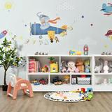 Isabelle & Max™ 2-Shelf Bookcase 5-Cube Wood Toy Storage Cabinet Organizer,White in Brown, Size 24.0 H x 44.0 W x 12.0 D in | Wayfair