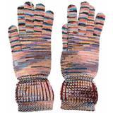 Striped Wool-cashmere Knit Gloves - Pink - Missoni Gloves