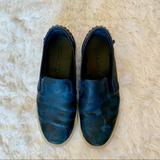 Coach Shoes | Coach Mens Wild Beast Camo Leather Slip On Shoes Size 10.5 | Color: Black/Blue | Size: 10.5