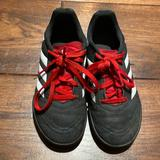 Adidas Shoes   Adidas Indoor Soccer Cleats Size 12 Kids.   Color: Black/Red   Size: 12b