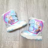 Disney Shoes | 2$20 Frozen 2 Snow Boots 10 | Color: Blue/Purple | Size: 10g
